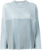 Sonia Rykiel ribbed jumper - women - Cotton/Viscose - S