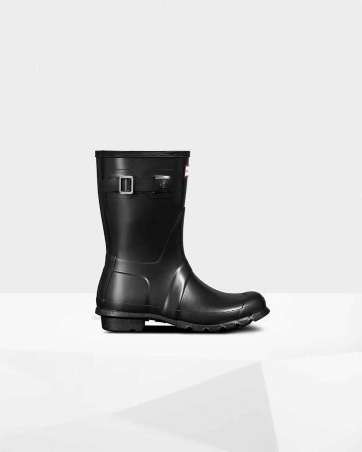 Hunter Women's Original Nebula Short Wellington Boots