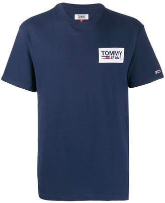 Tommy Jeans crew neck repeat logo T-shirt