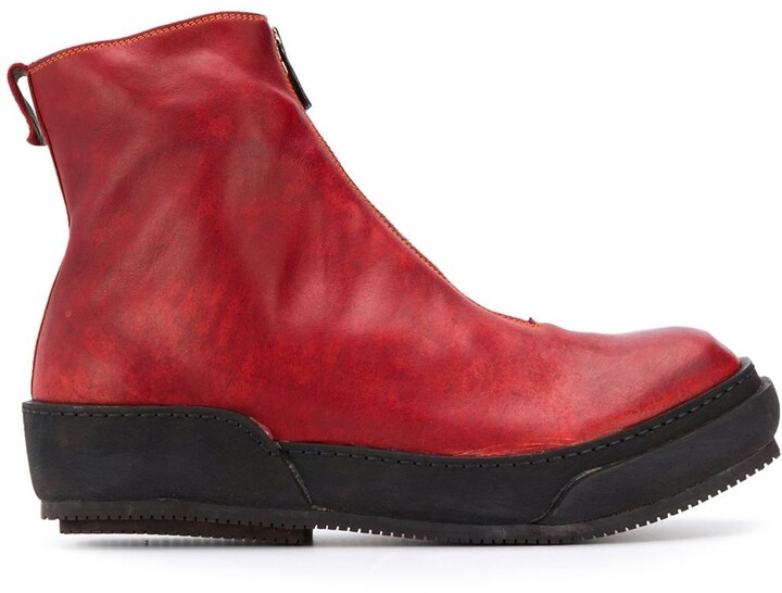 0d95cff42ac front zip boots