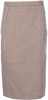 Stella McCartney Prince of Wales checked pencil skirt