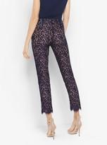 Michael Kors Floral Lace Cropped Pants
