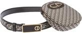 Christian Dior monogram clutch belt