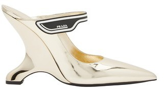 Prada High-heeled mules