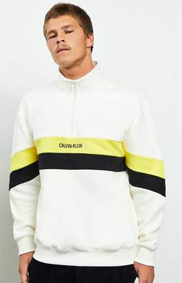 Calvin Klein Polar Fleece Quarter Zip Pullover