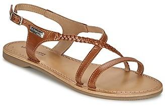 Les Tropéziennes HANANO women's Sandals in Brown