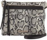 Elaine Turner Designs Mara Python-Embossed Shoulder Bag