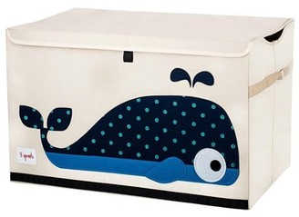 3 Sprouts Toy Chest - Whale