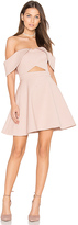 Keepsake Apollo Mini Dress in Blush. - size XS (also in )