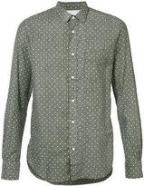 Officine Generale polka dot shirt - men - Cotton/Acetate - S