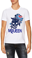Alexander McQueen Embroidered Graphic T-Shirt