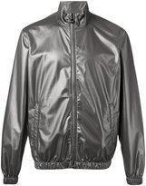 Emporio Armani iridescent zip jacket