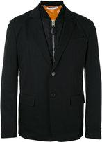 Givenchy padded underlayer blazer