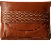 Badgley Mischka Jennifer Shine Shoulder Bag (Cognac) - Bags and Luggage