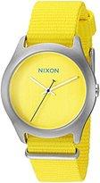Nixon Women's A348-1599-00 Mod Analog Display Japanese Quartz Yellow Watch