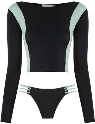 BRIGITTE Long Sleeved Bikini Set