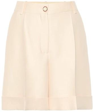 Valentino Wool and silk shorts