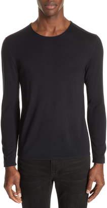 John Varvatos Slim Fit Wool Crewneck Sweater