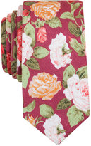 Bar III Orchid Floral Tie, Only at Macy's