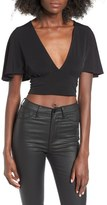 Leith Cape Crop Top