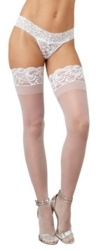Dreamgirl Laced Stay Up Sheer Thigh High