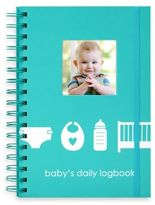 "Pearhead Baby's Daily Logbook"" in Blue"