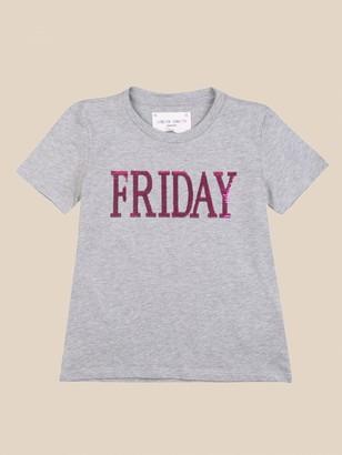 Alberta Ferretti Junior T-shirt With Friday Writing