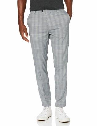 Scotch & Soda Men's Mott - Classic Chino in Yarn-Dyed Pattern Casual Pants