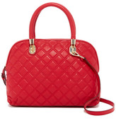Cole Haan Benson Quilted Leather Dome Satchel