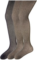 Jefferies Socks Seamless Organic Tight Three Pack (Toddler/Little Kid/Big Kid)