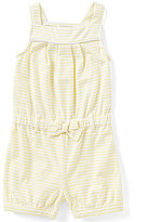 Starting Out Baby Girls 12-24 Months Striped Sleeveless Shortall