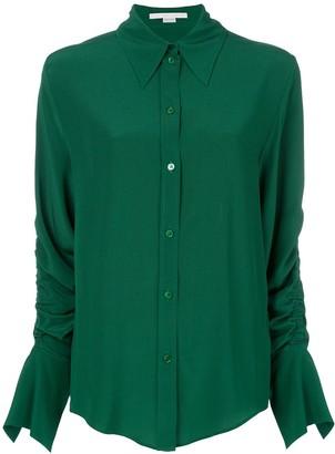 Stella McCartney Ruched-Sleeve Shirt