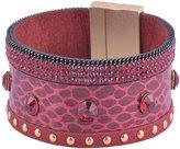 Dr. μ D & R Women Jewelry Belt Bracelet Magnet Clasp Matte Plating Finished