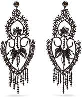 Gucci Bead-embellished clip-on earrings