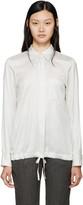 Jil Sander White & Black Virna Shirt
