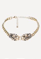 Bebe Jaguar Head Choker