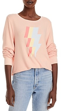 Wildfox Couture Lightweight Graphic Sweatshirt