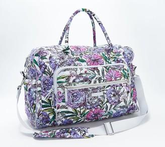 Vera Bradley Signature Iconic Weekender Travel Bag