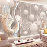 Wapel Mural, Bedroom, Living Room, Sofa, Tv Background Wall, Simple European Style Seamless 3D Stereo