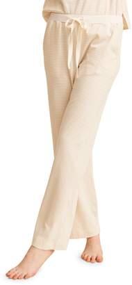 Natural Skin Striped Stretch-Cotton Pyjama Pants