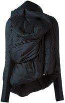 Rick Owens asymmetric coat