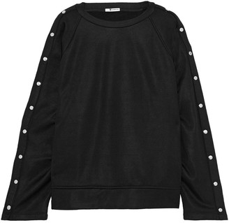 alexanderwang.t Snap-detailed Terry Sweatshirt