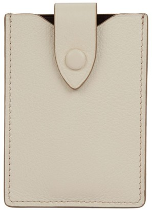 Metier London Small Leather Wallet
