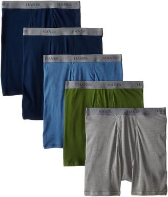Hanes Men's 5-Pack Ultimate Fashion Boxer Briefs
