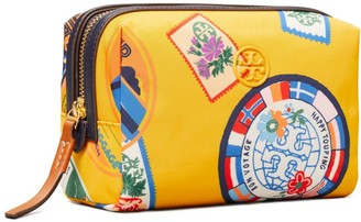 Tory Burch Perry Travel Patches Small Cosmetic Case