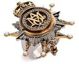 Alexander McQueen Women's Medallion Ring