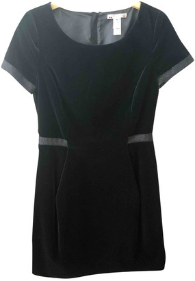 Bonpoint Black Velvet Dress for Women