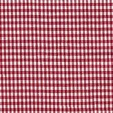Ababy Red Gingham Portable Crib Pillow Sham - Size: 11 x 14 inches