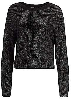 Rag & Bone Women's Jubilee Metallic Merino Wool-Blend Sweater