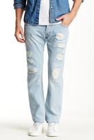 Gilded Age Distressed Straight Leg Jean